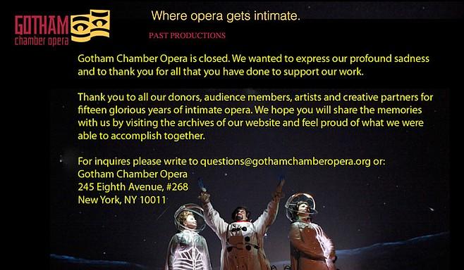 Gotham Chamber Orchestra website