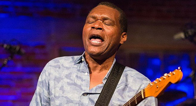 Robert Cray is an R&B vocalist ensnared in the body of a grandee blues guitarist.
