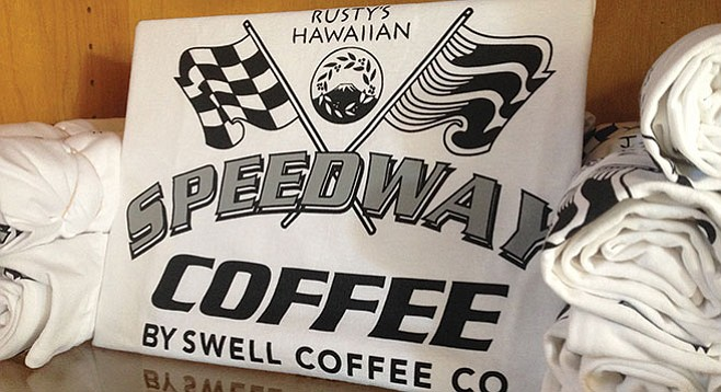 Swell Café sourced Rusty's Hawaiian beans for a collaboration with AleSmith on its Hawaiian Speedway stout.
