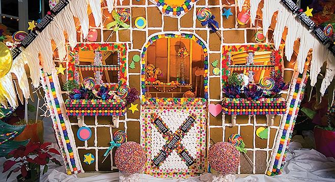 Rancho Bernardo Inn's Giant Gingerbread House