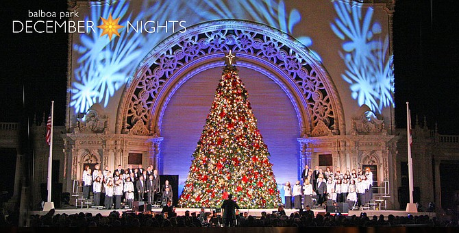 December Nights full of concerts.