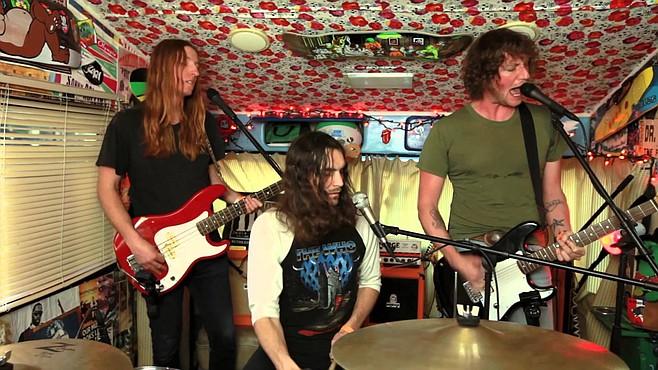 Soda Bar sets up L.A. garage-punk trio Zig Zags on Sunday night.