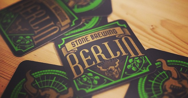 Stone Brewing Berlin is the first American-owned brewery to craft beers in Europe.