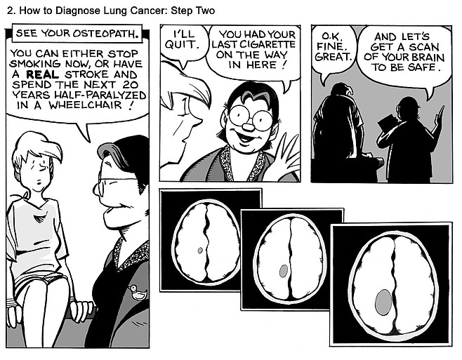 How to Diagnose Lung Cancer: Step Two