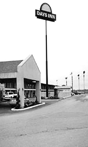 I'd see people camping under the overpass where Robertson split off the highway. They were visible from the back corner of the Days Inn parking lot.
