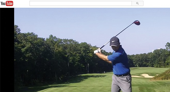 YouTube offers one zillion golf-instruction videos.