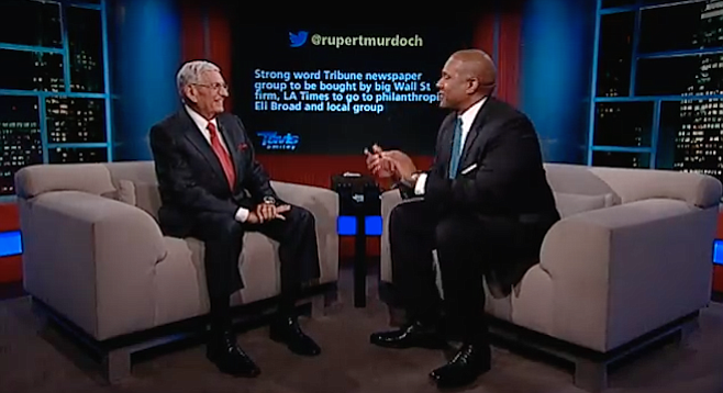 Eli Broad interviewed by Tavis Smiley