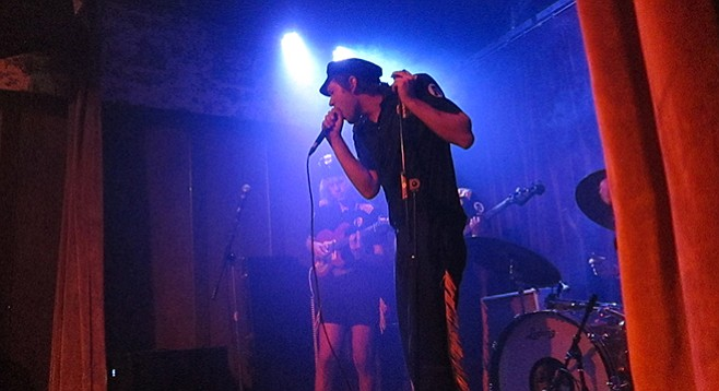 L.A. garage-rocker Mike Krol will miss the stage (and curtains) at Seven Grand.