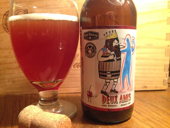 The Karl Struass & Monkey Paw collaboration Deux Amis took three years to make.