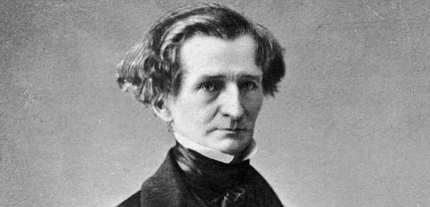 Hector Berlioz and his hair.
