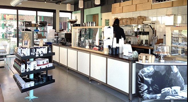 A stylish new Golden Hill location for Dark Horse Coffee