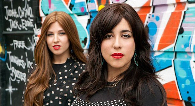 Hasidic alt-rock act Bulletproof Stockings takes the Casbah stage on Tuesday.