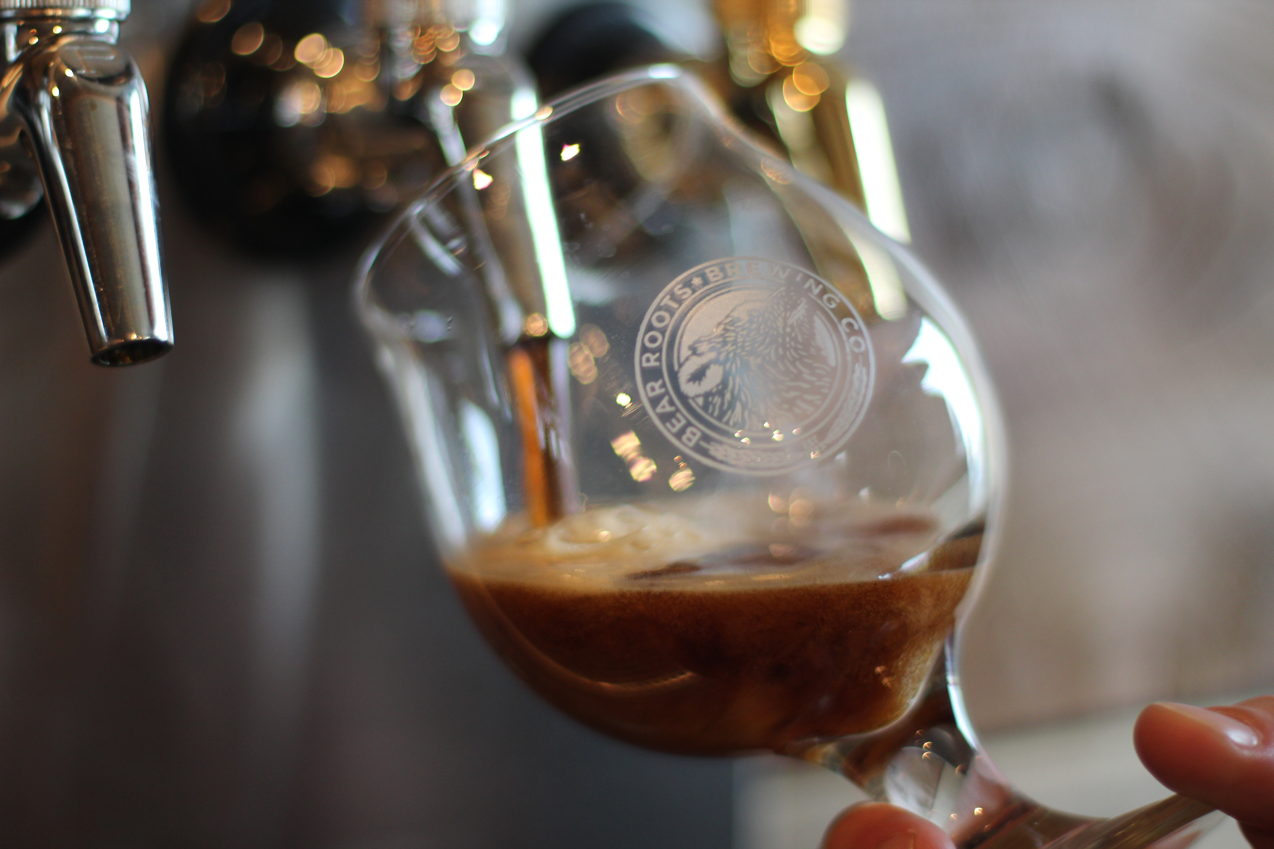 This Scotch ale is one of eight inaugural brews on tap at Bear Roots.