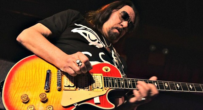 Kiss guitarist Ace Frehley, now of La Mesa, is recruiting local players like Ray Brandes for an upcoming covers collection.