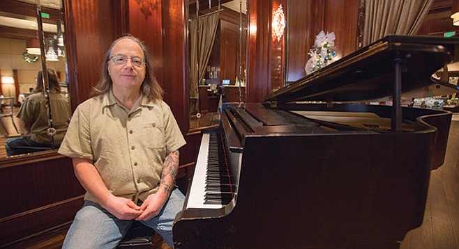 Jazz performer and new music composer Joe Garrison may be San Diego's most enigmatic musician.