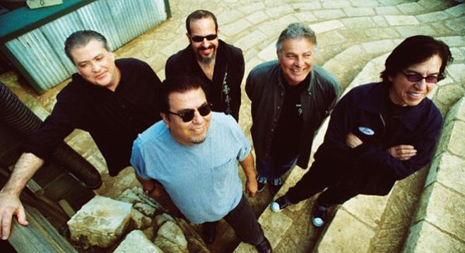 Grammy winners Los Lobos will do the honors at Belly Up's New Year's Eve bash.