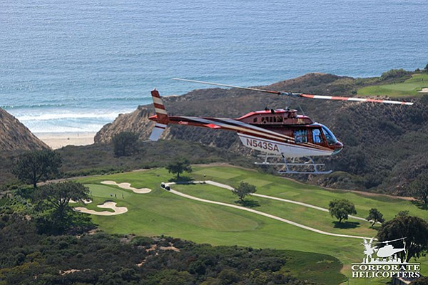 Corporate Helicopters tour