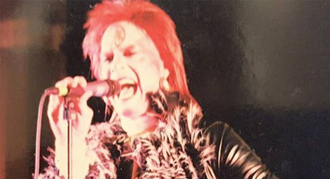 Bowie tribute Ziggy Shuffledust and the Spiders from Mars usher in the New Year at Casbah Thursday night!