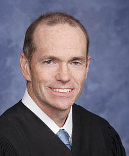 """Judge Hays. """"Just look at that crooked smile,"""" noted Dumanis. """"Those shifty, heavy-lidded eyes. We're not sure what he's up to, but we are sure it isn't good."""""""