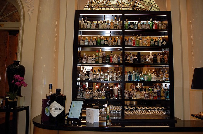 Located next door to the Swiss Parliament,  Bellevue Palace's Gin-Gin Bar helps lubricate legislation at one of the world's most democratic nations.