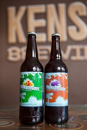 Kensington  Brewing has bottled beer for a couple years now.