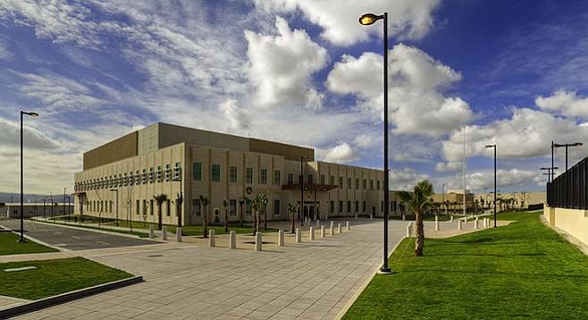 U.S. consulate in Tijuana