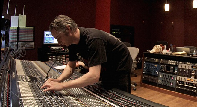 Ben Moore engineers, produces, and plays — sometimes all at once.