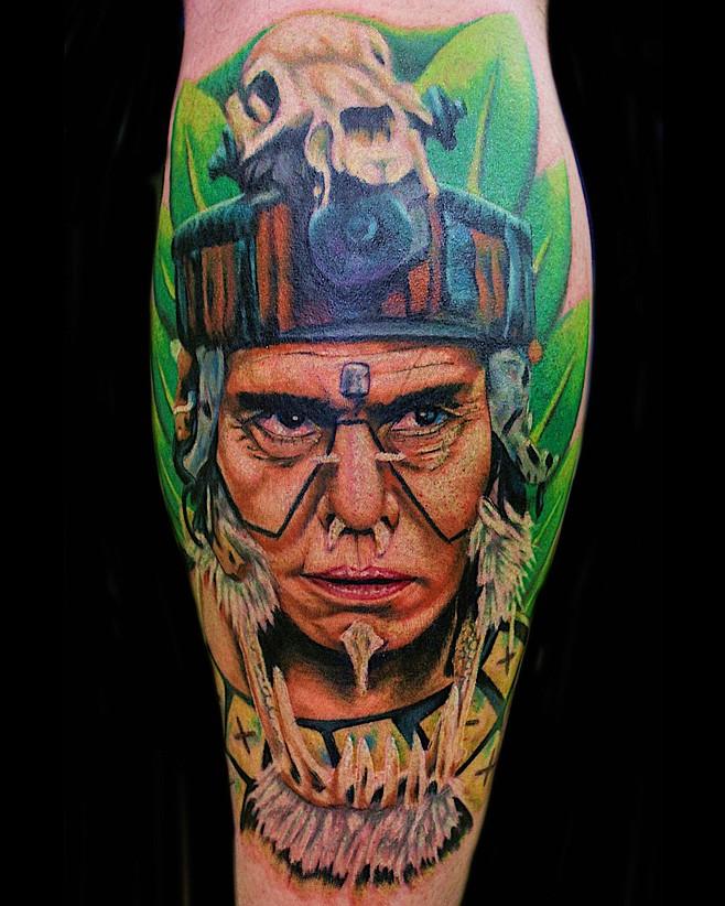 Fernando Gonzalez 's Portfolio | Fernando Gonzalez Tattoos  |Apocalypto Tattoo