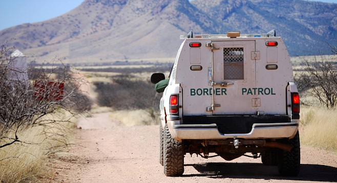 Between October 1 and mid-November of last year, 2 Afghans and 22 Pakistanis reportedly surrendered to Border Patrol agents.