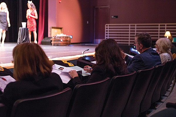 Miss San Diego judges