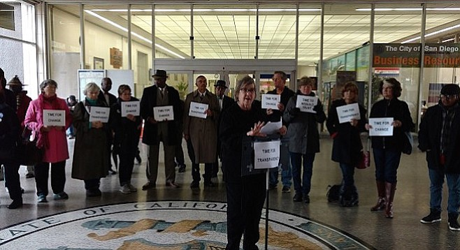 """Kate Yavenditti: """"The community does not trust the police, nor does it trust the citizens' review board."""""""