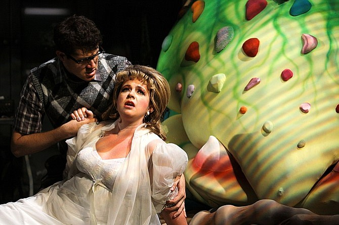 Melissa Fernandes as Audrey in Little Shop of Horrors