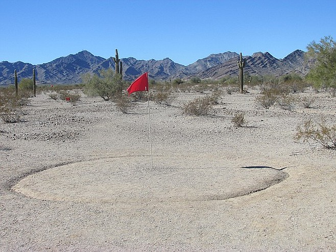 """""""Desert golf"""" is played a little differently than at Torrey Pines."""