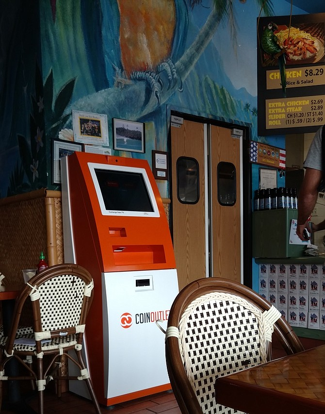 Surf Brothers Teriyaki in Encinitas is the first of their locations to get the Bitcoin ATM
