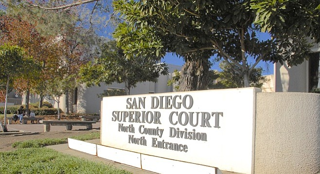 San Diego's North County courthouse.