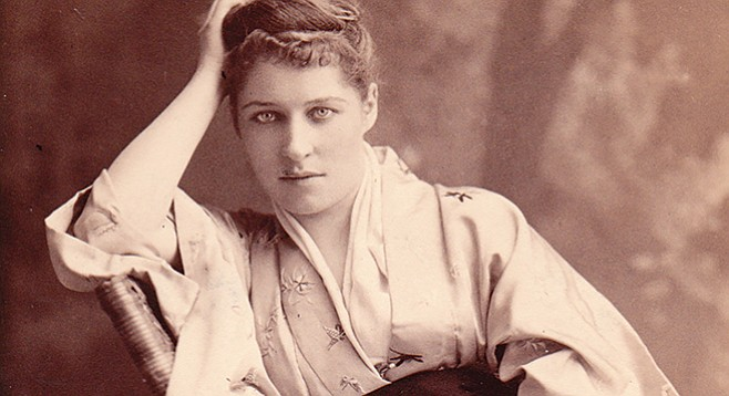 Lillie Langtry, 1884 - Image by J.M. Mora