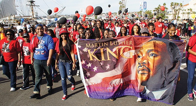 Sunday, January 17: Martin Luther King Jr. Parade