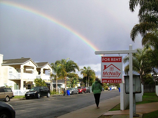 Rent is at the end of the rainbow in Imperial Beach