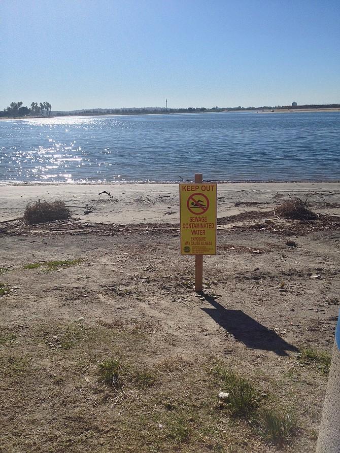 Yellow danger sign