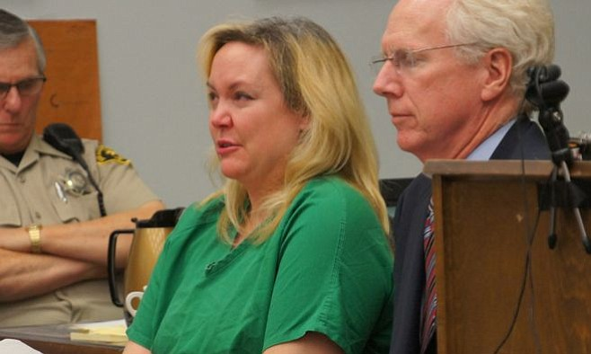 Julie Harper cried during her 40-minute declaration to the court.