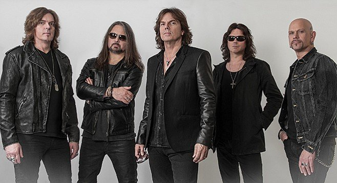 Apparently it was not the final countdown for hard-rock band Europe, which is on the road behind a new album, War of Kings.