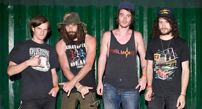Nashville quartet All Them Witches will put their psych-rock spell on Casbah Saturday night!