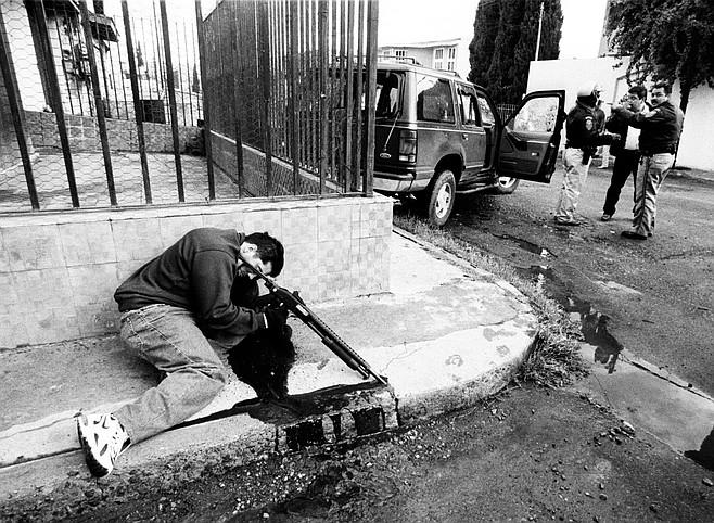 Reenactment of Francisco Ortiz Franco murder (Ramon T. Blanco Villalón/Zeta)
