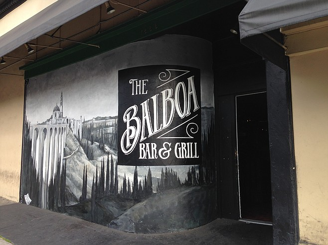 Balboa Bar & Grill, now serving burgers where the Tin Can used to be