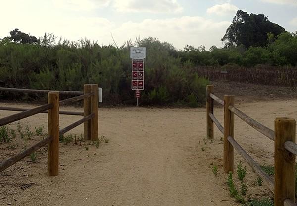 Otay Delta River Trail Junction