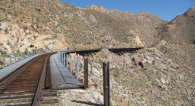 Carrizo Gorge Trestles - Image by Andy Boyd