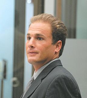 Defense counsel Jeremy Burland