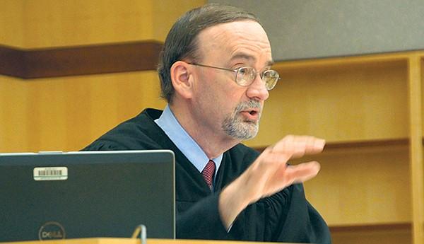 San Diego Superior Court judge K. Michael Kirkman