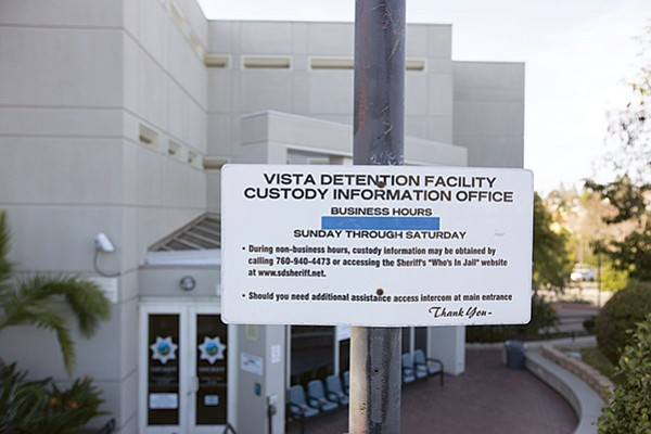 Alyce Copeland is currently being held at Vista Detention Facility. She declined to be photographed for this story.