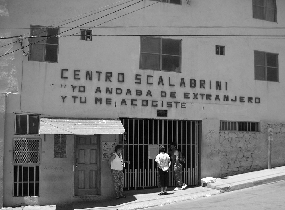 Casa del Migrante in Tijuana, run by the Scalabrini Missionaries, opened in 1987 and houses about 200 men for 15-day periods.